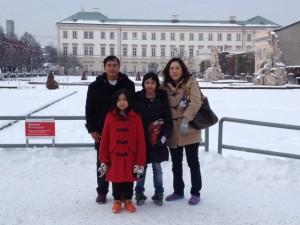 ฒคุณอุดม ฐิตวัฒนะสกุลพาครอบครัวเที่ยวยุโรป
