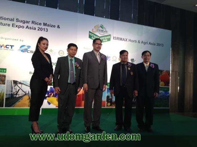ISRMAX Asia 2013 ISRMAX Horti & Agri Asia 2013 Industry Briefing